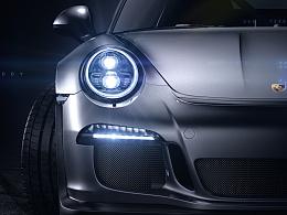 Porsche 911 GT3 RS CGI