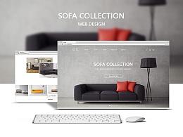 沙发网页设计