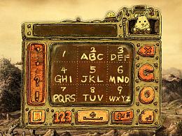 机械兔 搜狗键盘皮肤设计