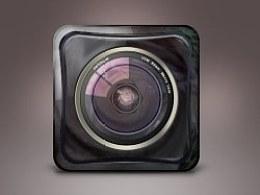 玻璃质感相机ICON