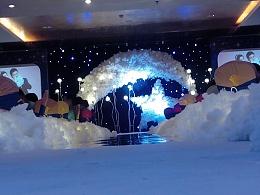 婚礼舞台设计