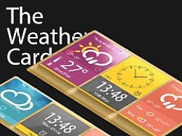The Weather Card 天气卡片