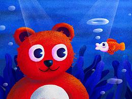 小熊和小鱼儿