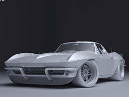 大脚怪-Chevrolet Corvette-C2 2015