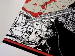 AMPA工作室出品《地心引力Gravity》最新手绘电影海报
