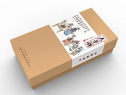 南京特产-夫子饼包装