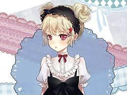 武汉奇天动漫原画作品更新-可爱的小少女