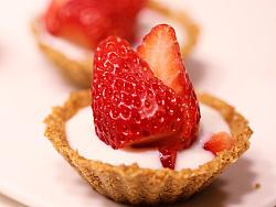 春季快手甜点草莓挞