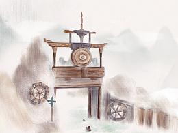 清新明信片丨小小淹城