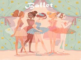 芭蕾舞者~