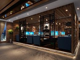 南京网咖室内设计