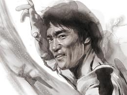 43周年纪念《再认识李小龙》特集插画