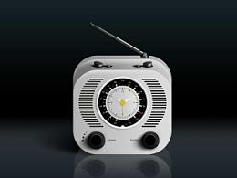 带时钟的收音机一枚(我只是来教作业的!)