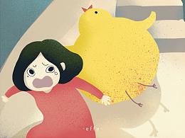梦到一只鸡