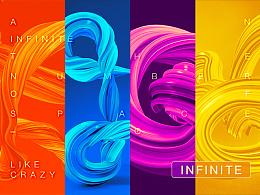 【 INFINITE 】旋扭图形