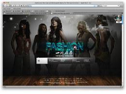 新做的一个服装网站