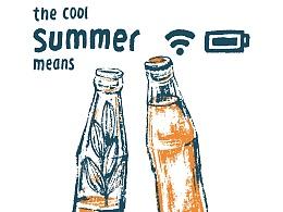 夏天,凉快一下