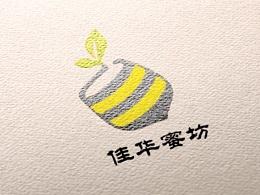为一位客户设计的蜂蜜logo