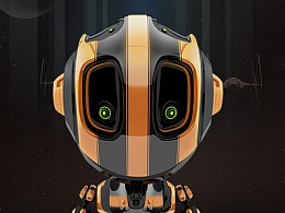 orange!!!小机器人