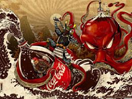 coke X daybreak