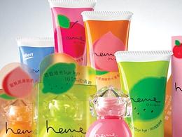 heme保養品牌及瓶子造型