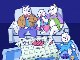POLAR BEAR-Happy Summer