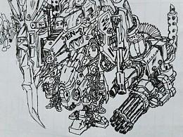 概念战地机器装甲