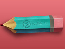 铅笔-dribbble