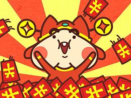 Red BonBon我要红包微信表情上架啦!
