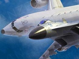 歼11 战斗机拦截  P8A反潜机