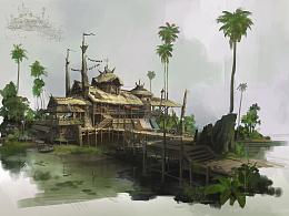 茅屋by洛克猴