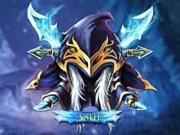 lol英雄徽章(2)寒冰射手:艾希(ashe)