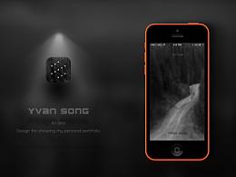 YVAN-An app design for my personal portfolio