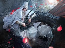 俄罗斯电影《他是龙》宣传图