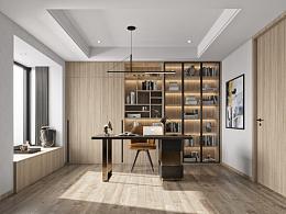创享视觉-卧室、书房案例