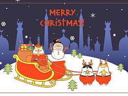 《圣诞节》卡肥酱家族