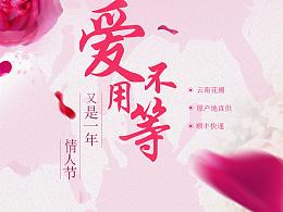 专题BANNER    七夕  情人节  玫瑰花