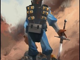 TeamFortress 2 军团要塞2 DEMOMAN