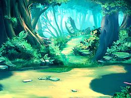 游戏场景原画