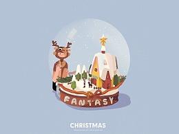 一个人的愿望只是空想<Christmas>