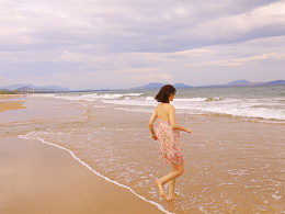 「客片」夏の海辺