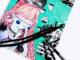 / doodling / & TOID 绘 本 涂 鸦