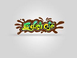 为一儿童英语外教班设计的字体logo涂鸦图案