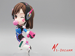 MsDreamm「D.VA」守望先锋周边dva手办模型