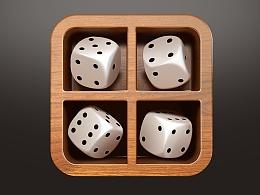 写实-骰子-icon-临摹篇