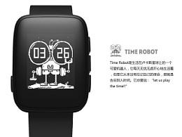 time robot  weloop表盘设计