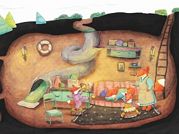绘本《小狐狸:是谁摸了我》--隐身少女Alice