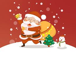 圣诞节主题活动-APP界面设计