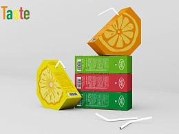 钟华作品-饮品包装设计