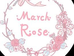 March rose店标